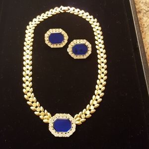 Park Lane necklace with earrings